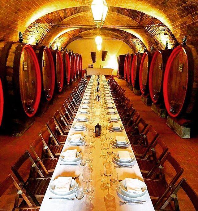 Dining in Chianti Classico @castellodialbola 🇮🇹🍷 #wine #dine #winecellar #winelover #wineo #wineoclock #chianti #chianticlassico #italianwine #winefindr