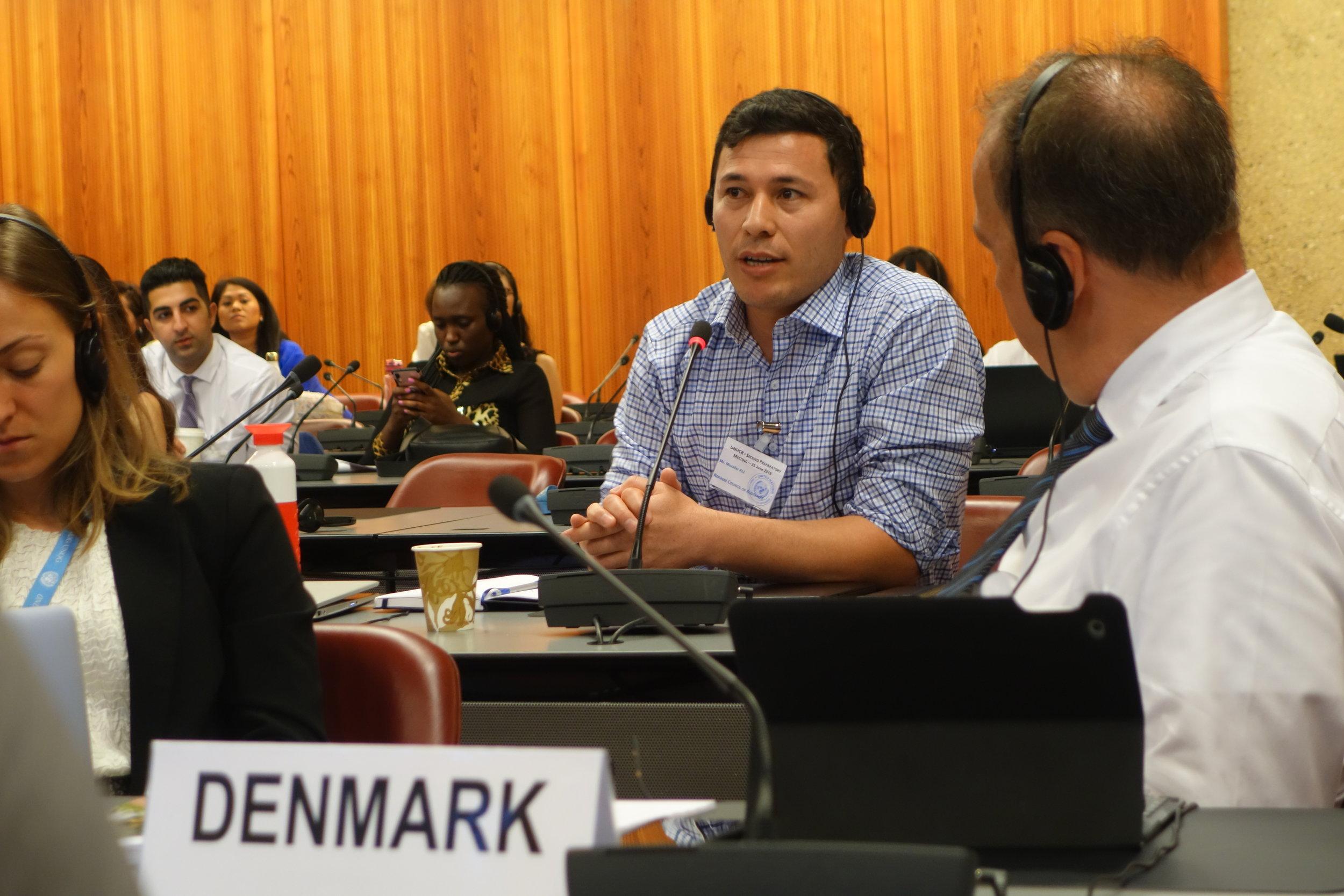 Muzafar in Geneva
