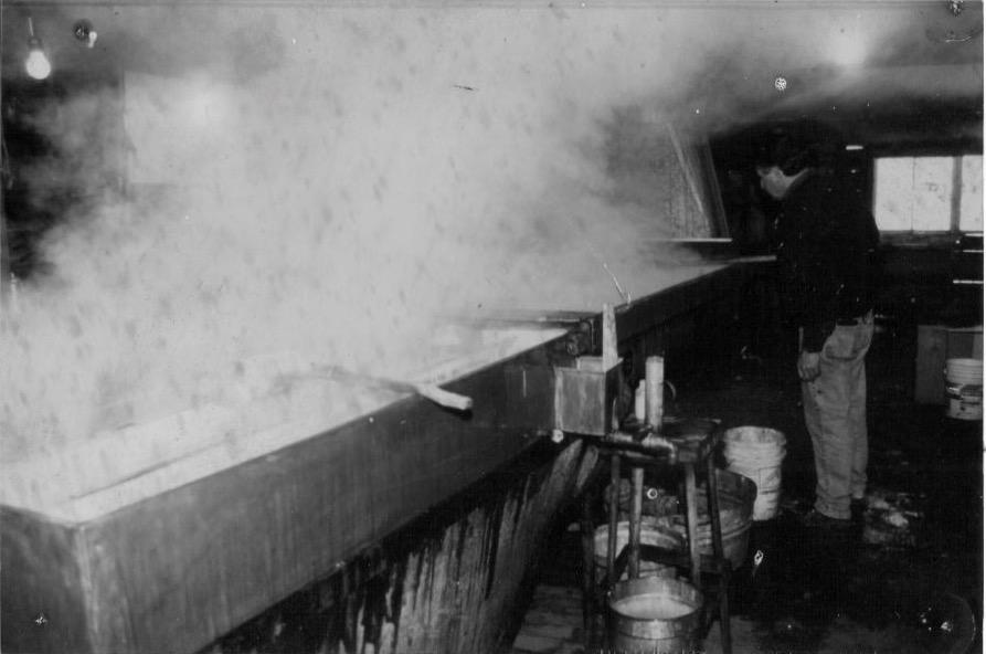 """Boiling on the original """"King"""" Leader Evaporator"""