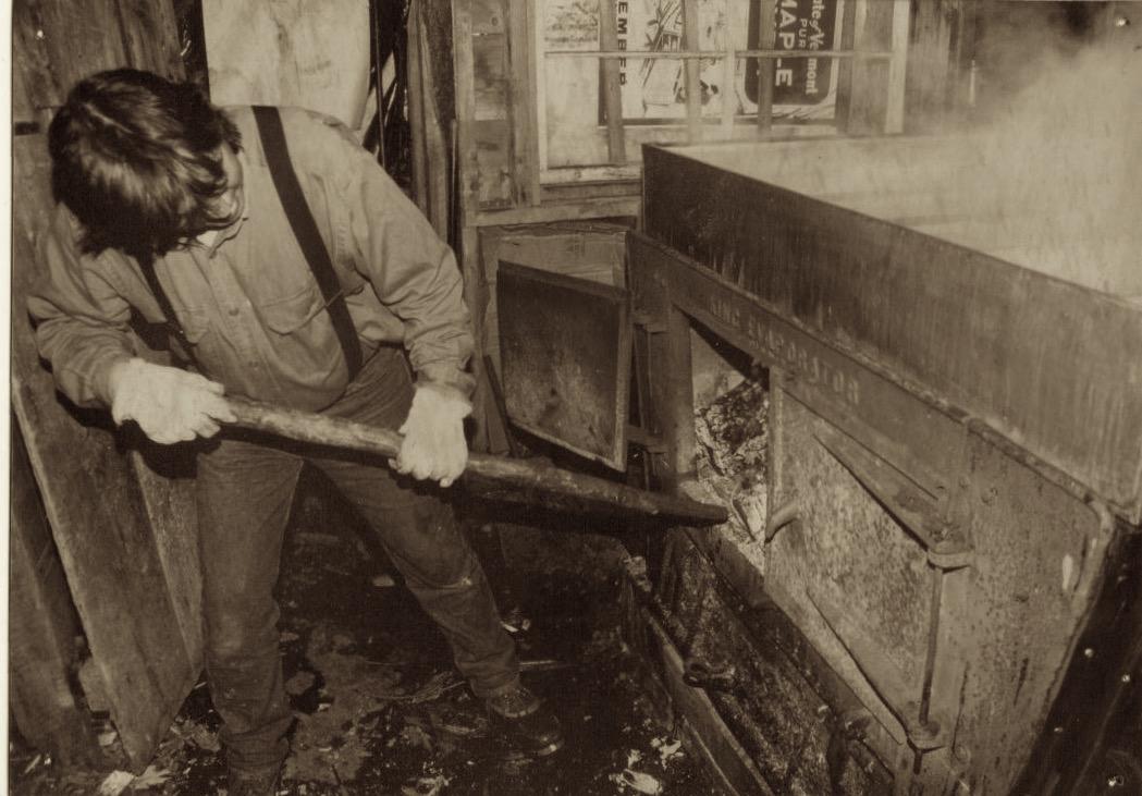 Arnold Livingston at the boil