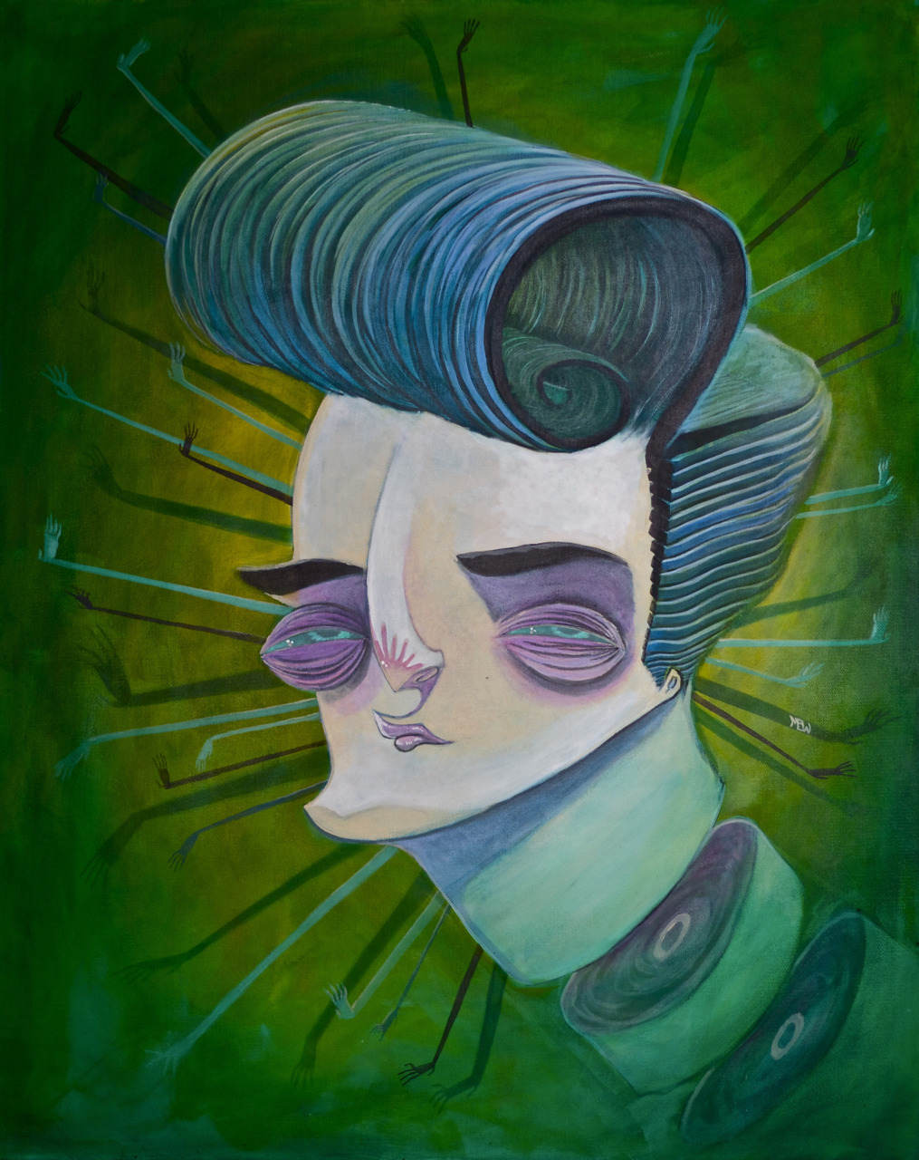 Acrylic on canvas, 2011 SOLD