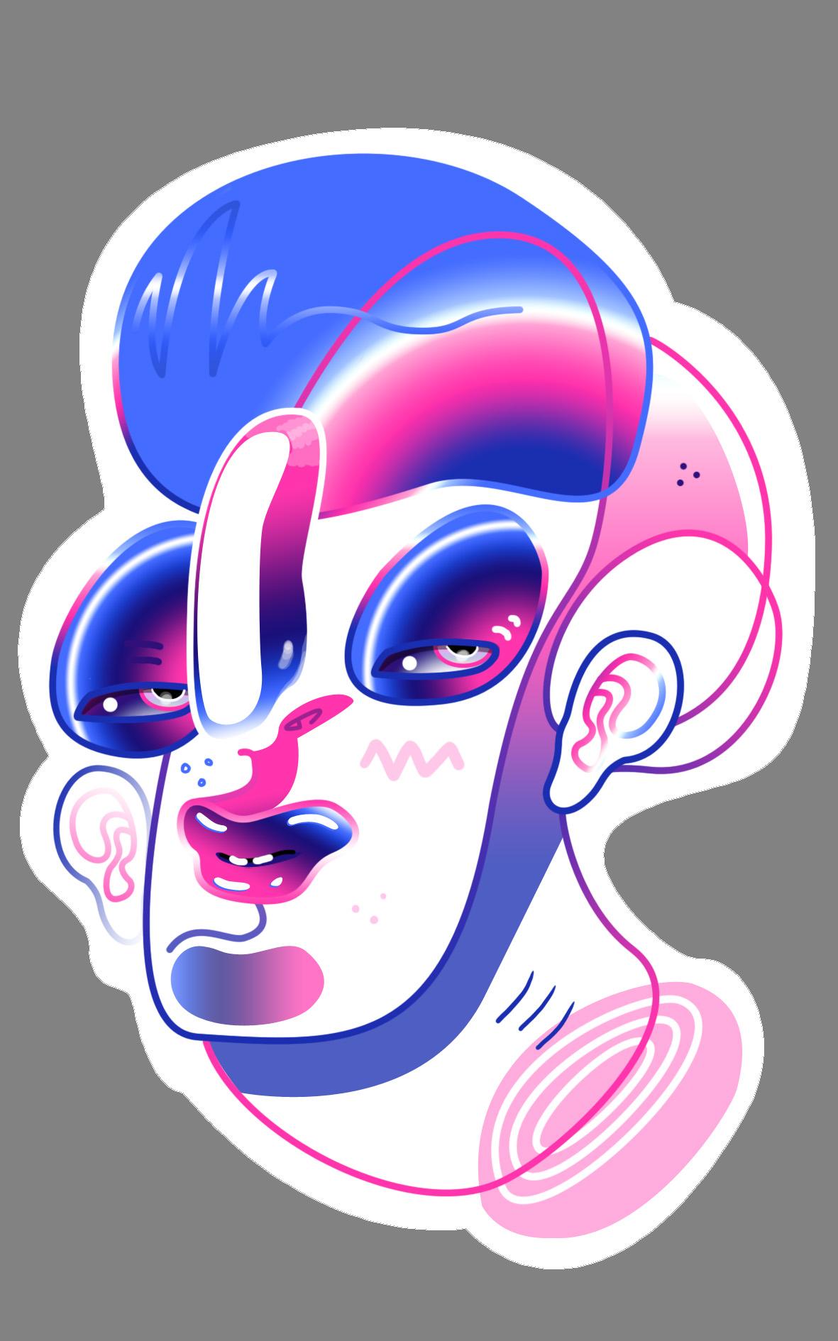 Unused Sticker Concept 2018