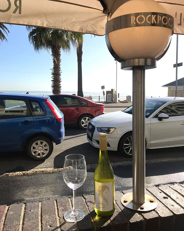 Sophie Te Blanche Sauvignon Blanc is available by the glass @rockpoolct Sea Point, Cape Town - #SophieSays enjoy sunny winter days and beachfront life