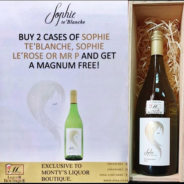 #SophieSays this is a must .. and perfect for summer! #Repost @montysliqourboutique(@repost_via_instant)Enjoy this special ONLY at Monty's while stock lasts