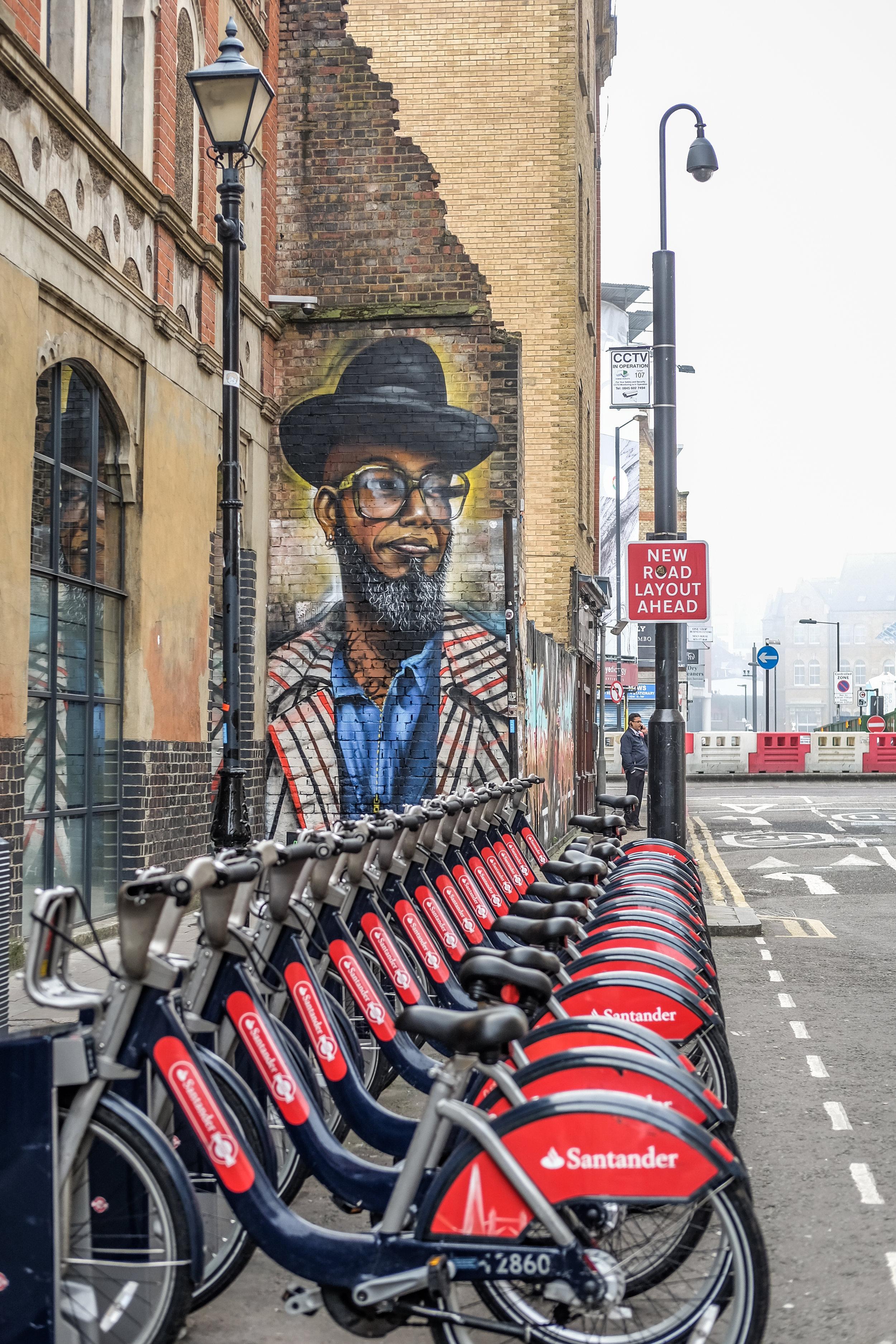 Mural near Spitalfield