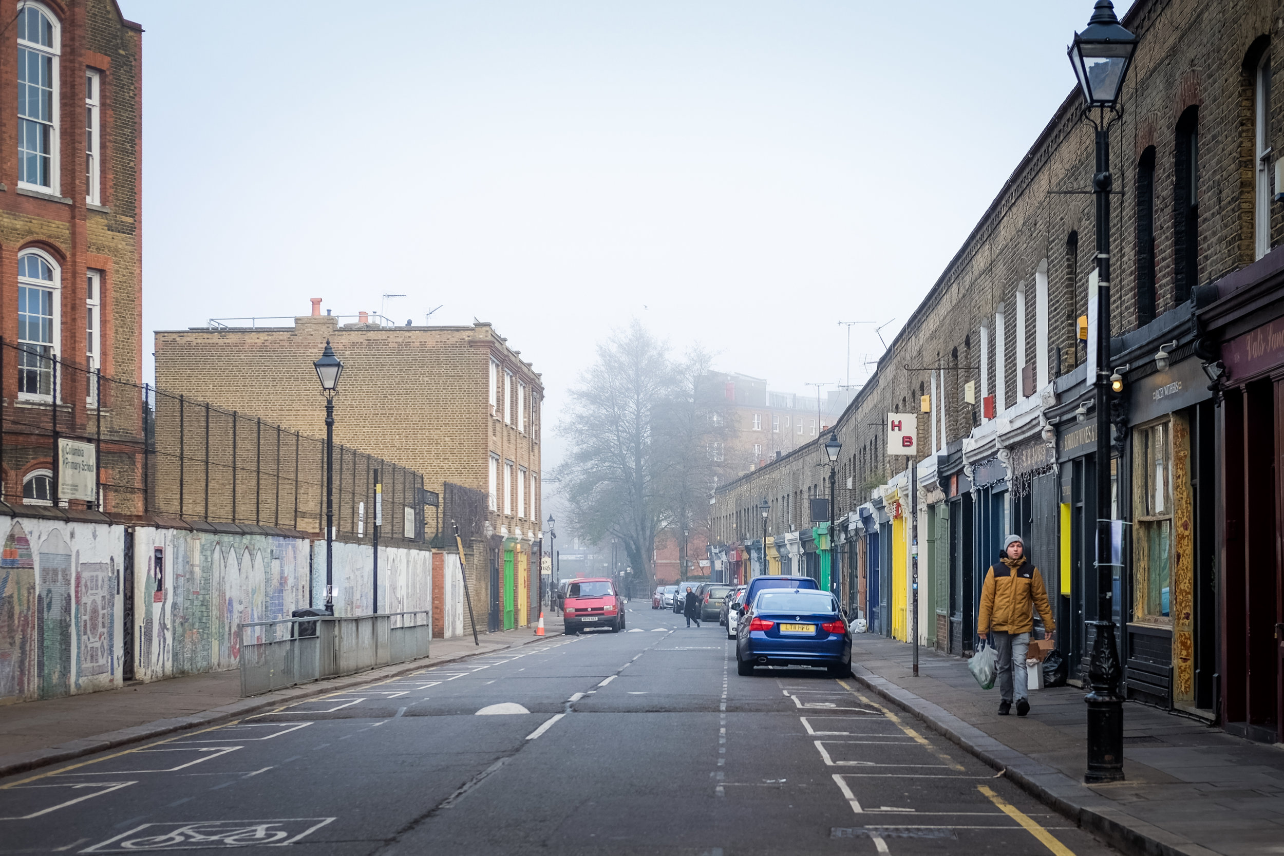 Columbia Road without the market