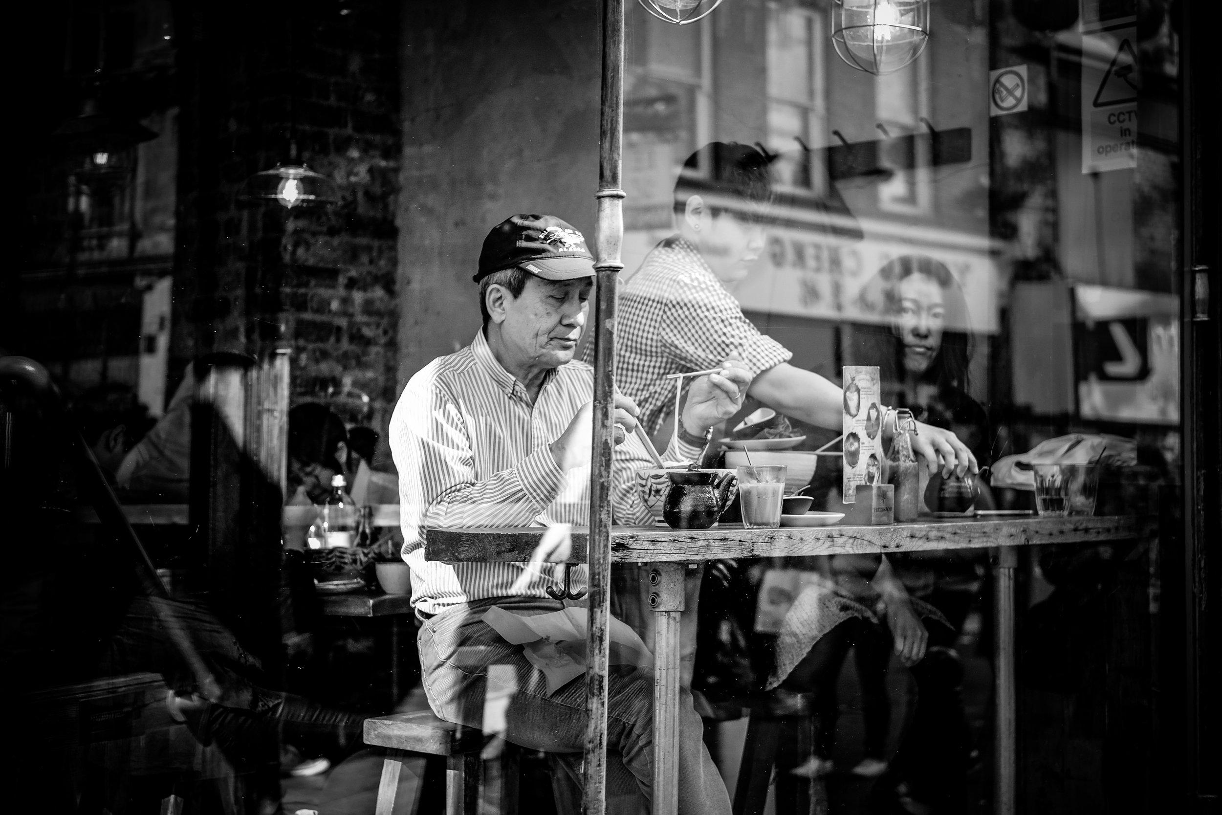 Layers & reflections on Wardour Street