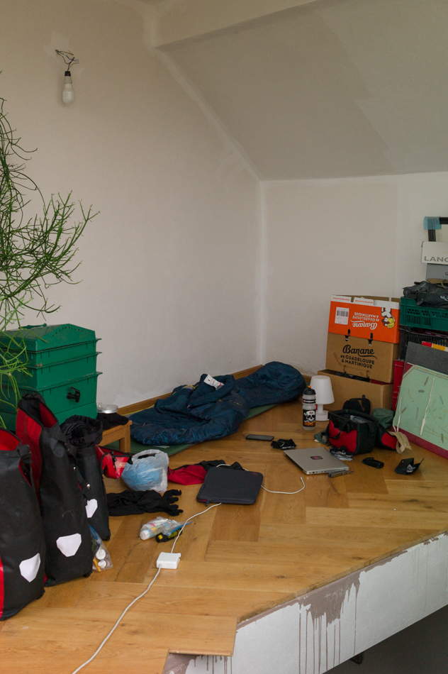 Illah's and Simon's home in Bratislava, June 11