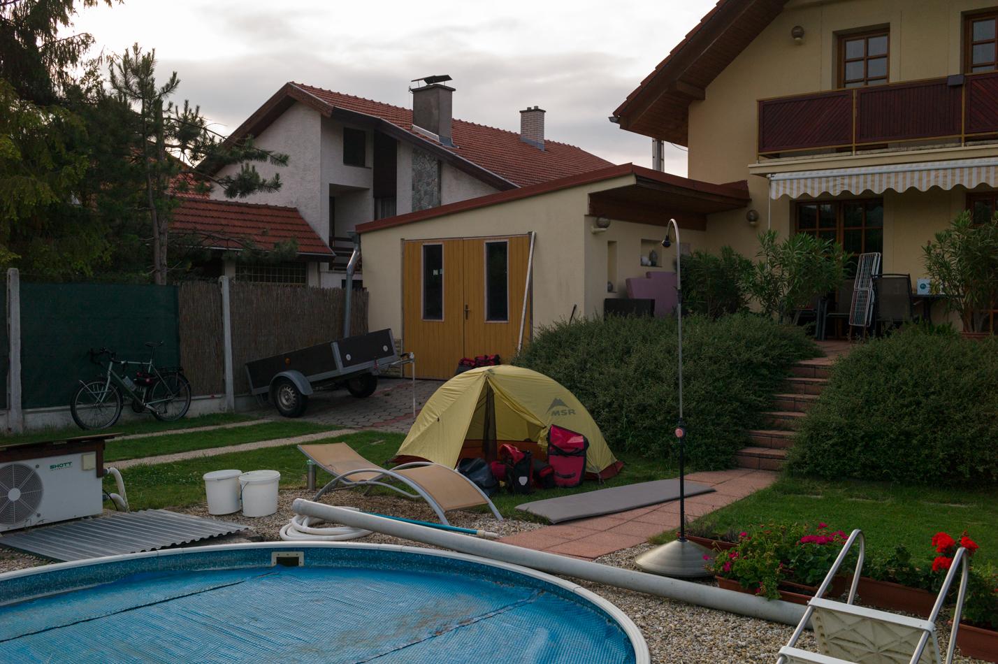 Pavol's garden in Cachtice, June 12