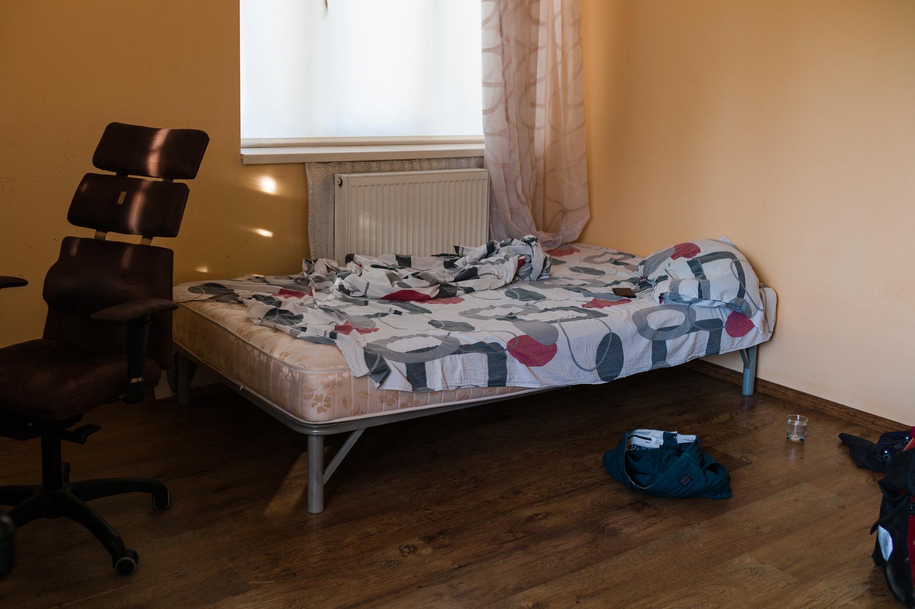 Mikhail's home in Sniatyn, July 4