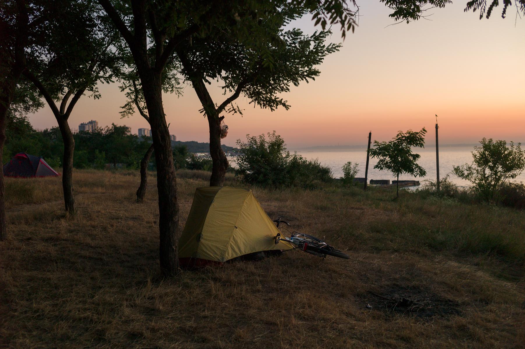 Beach in Odessa. June 13