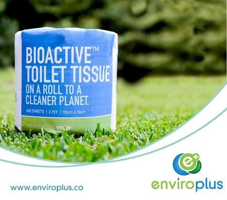 Bioactive Toilet Tissue