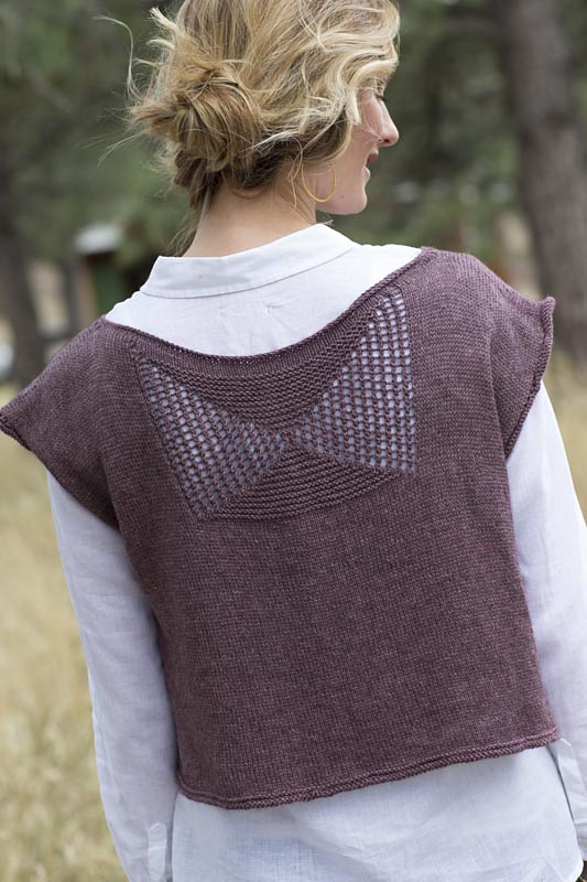 The  Peak Tank  is a perfect example of the construction and texture I was talking about earlier! I love that this is a piece that can be worn no matter the season, and layered to offer a multitude of different outfits. Perfect for those of us trying to keep our wardrobes small and the pieces in it meaningful!