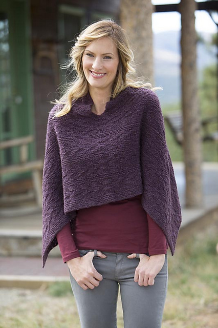 I'm a sucker for a poncho, and this one is at the top of my list! The  Native Poncho .