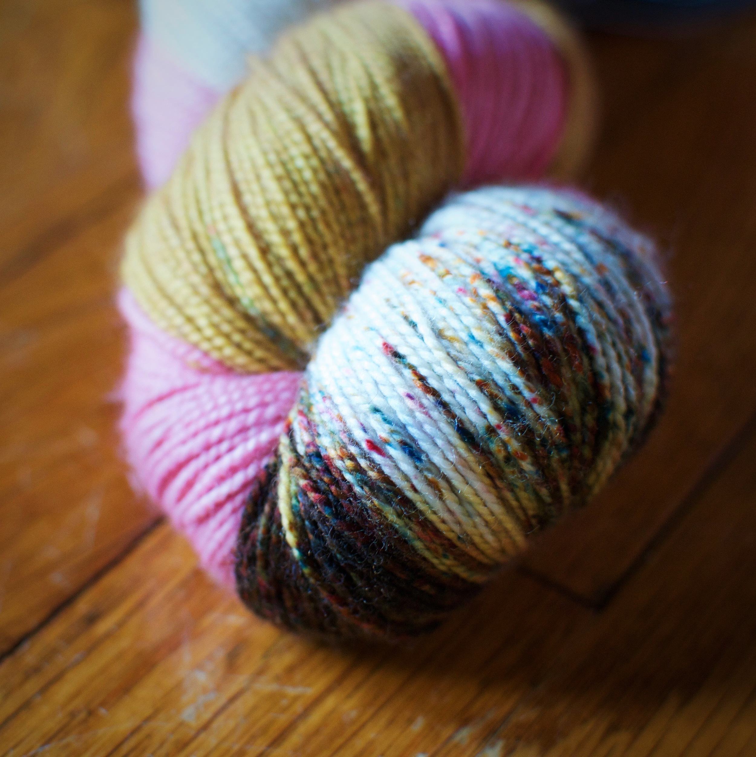 Well hello there Speckles - How you doin'?? (Another favorite colorway - Grand Budapest!)