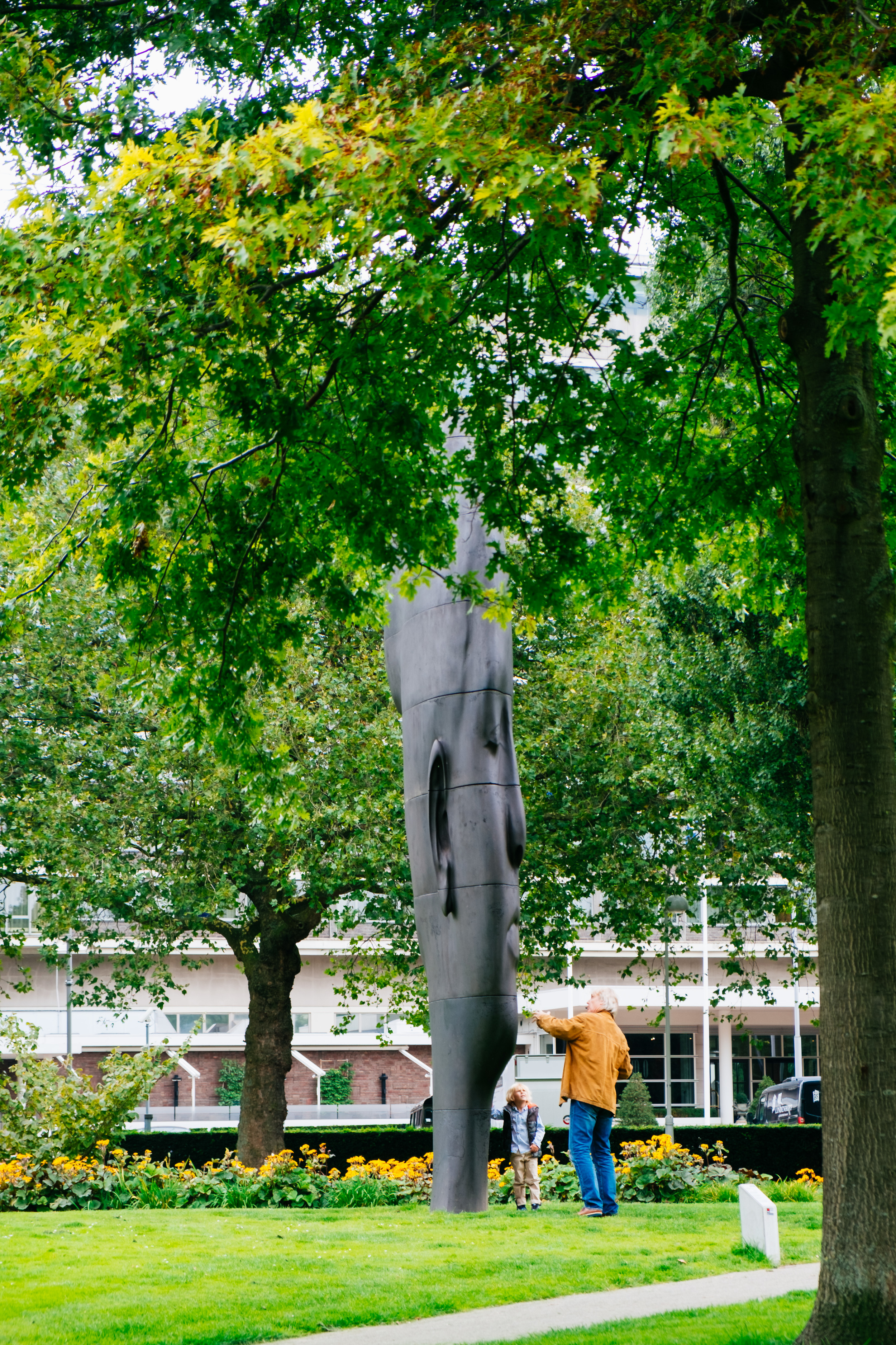 Jaume Plensa – Duna at ArtZuid