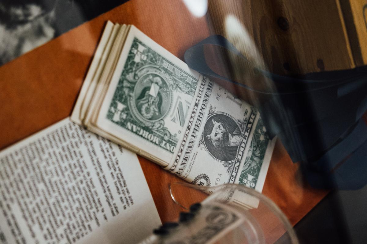 J. P. Morgan dollar bills