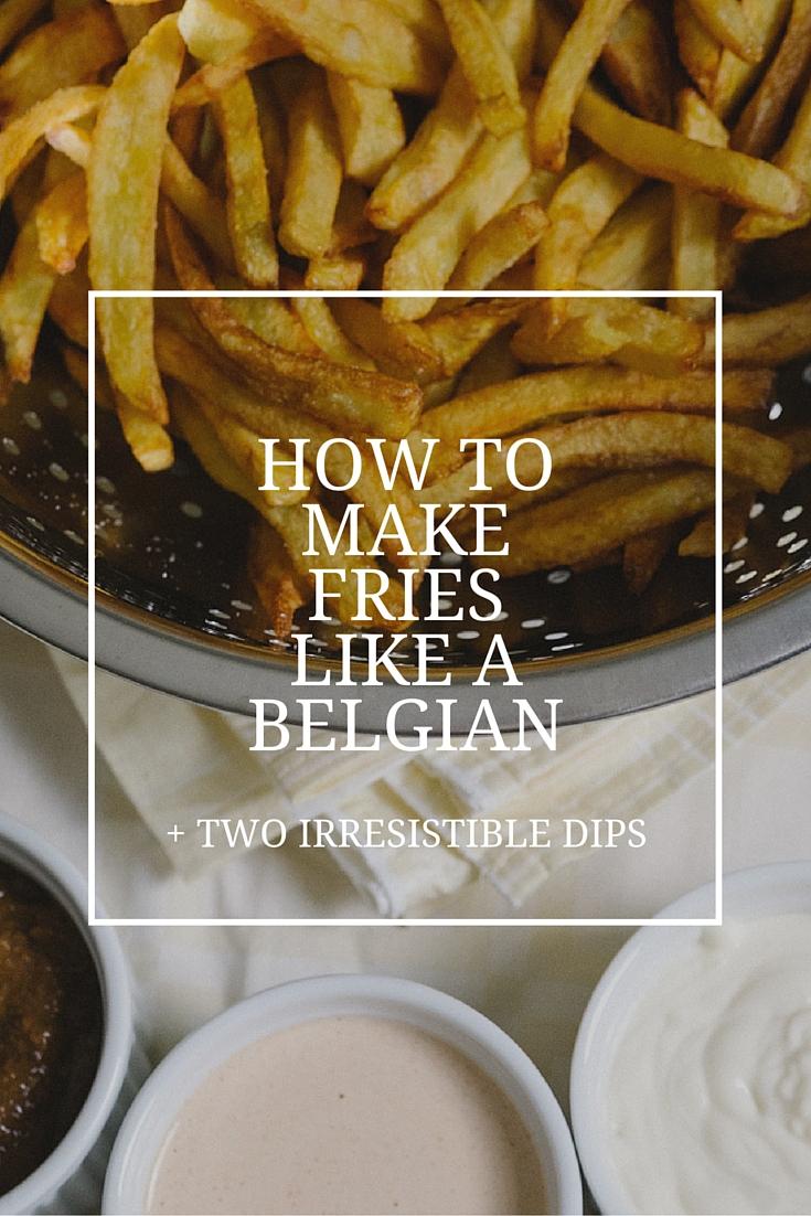 Belgian Fries Recipe, Andalouse Sauce Recipe, Satay Sauce Recipe