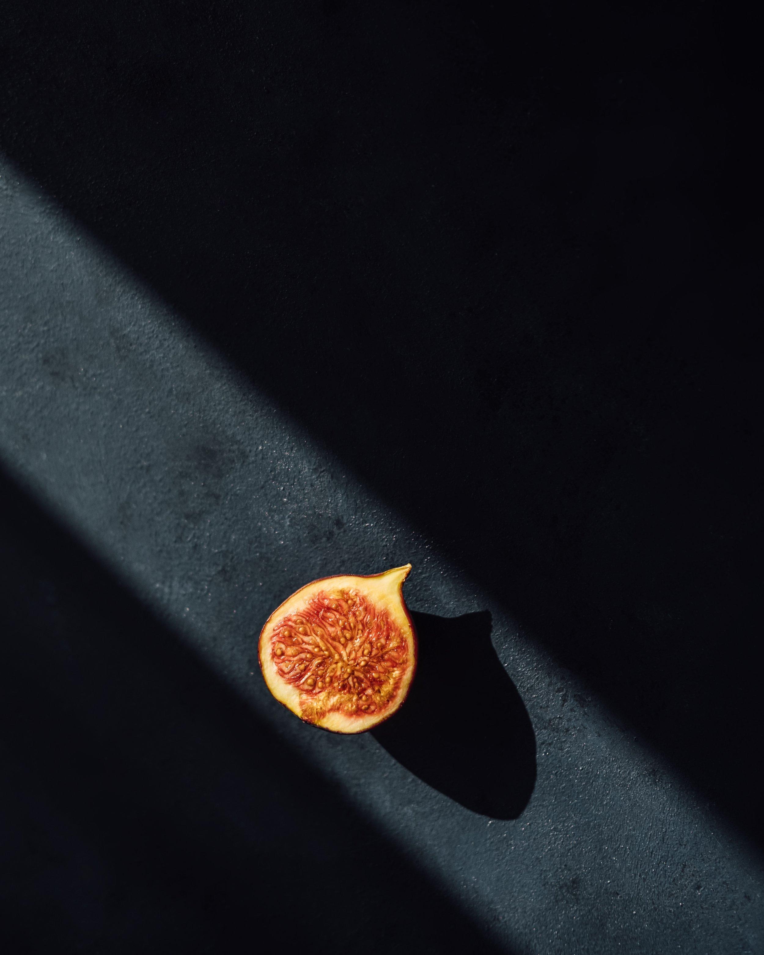 A fig in autumn sun