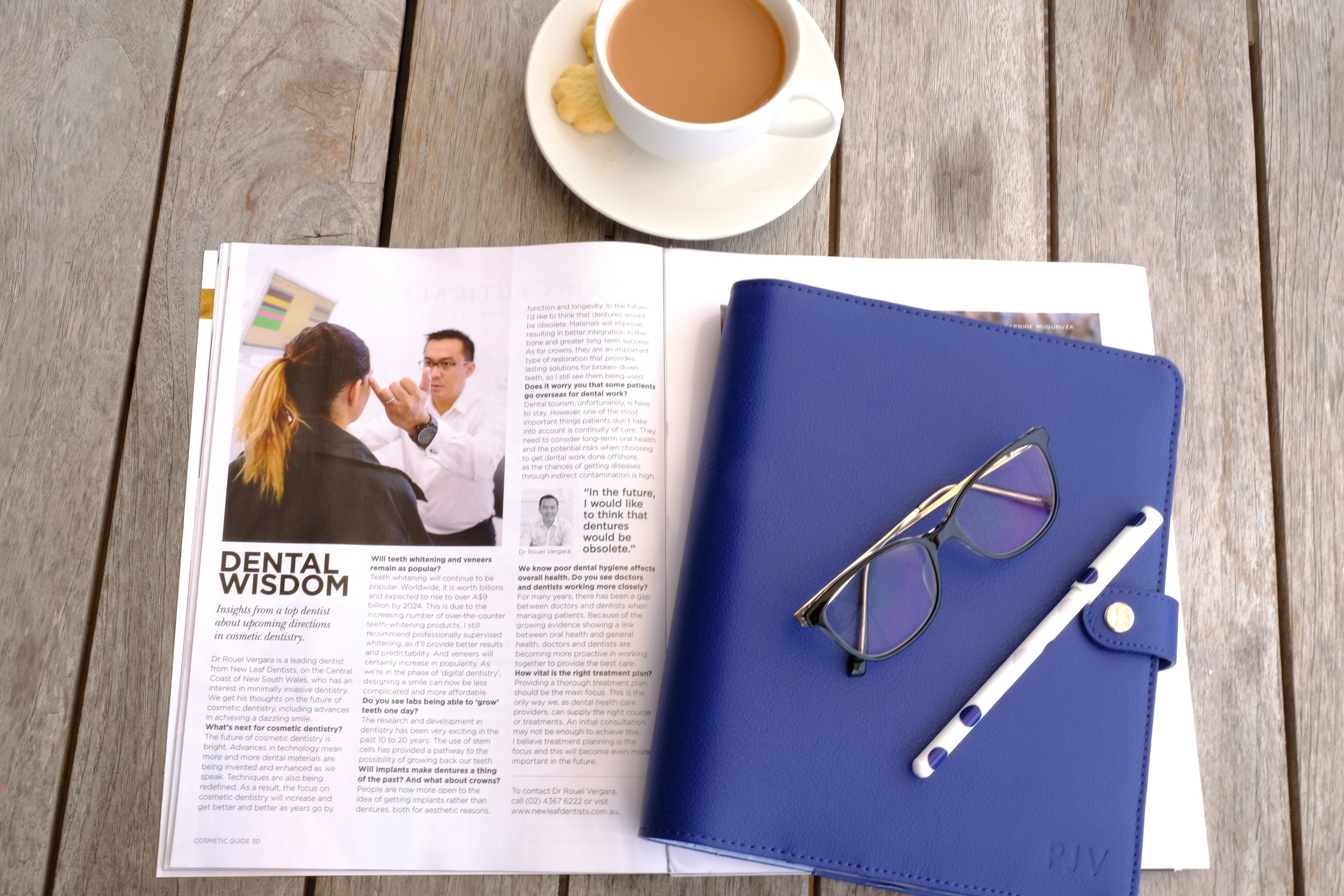 Read Dr. Vergara's interview on page 30 of the cosmetic guide. Here, he talks about his thoughts on the future of cosmetic dentistry.