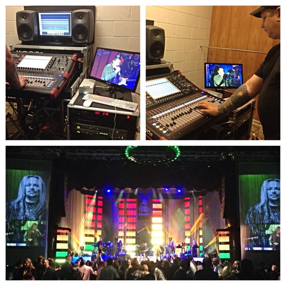 Live Multitrack Recording for the Sammy's Awards