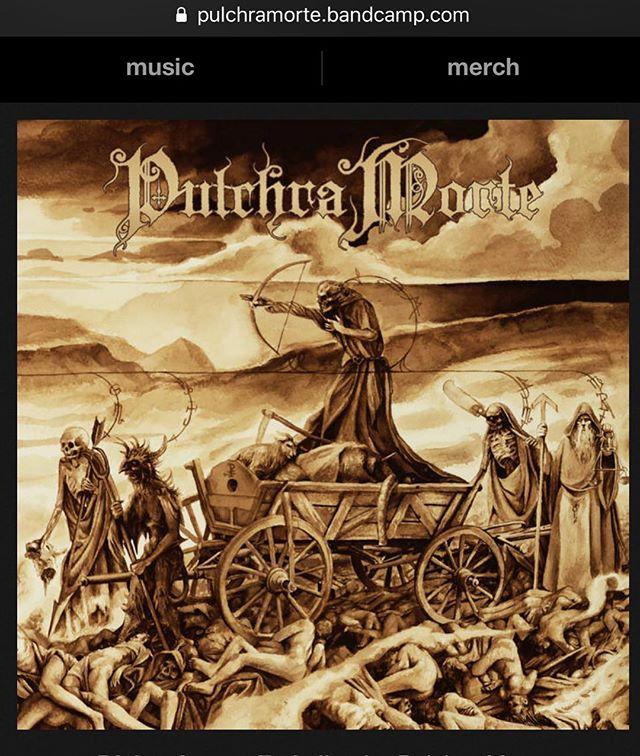 Preorders, Vinyl, CDs, Downloads, all right there. Check it out. Follow, share, jam, listen... #ceremonialrecords #pulchramorte #doommetal #deathmetal #deathmetalmerch #newconstellationrmp #espguitars #sitstrings
