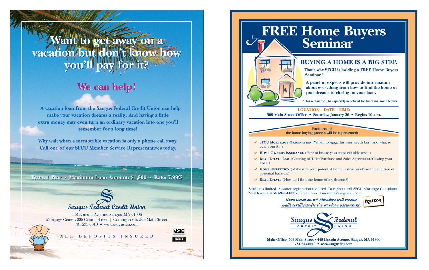 """Informational Flyers, 8.5"""" x 11"""""""