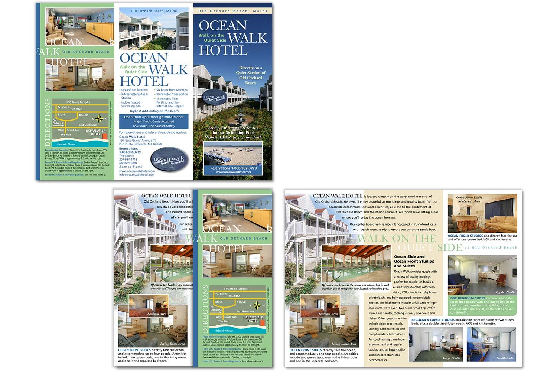 "Sales Brochure, 8.5"" x 11"" trifold"