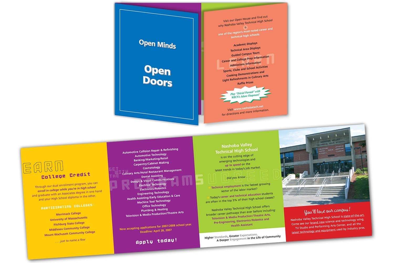 "Promotional Brochure, 17"" x 5.5"" 8-panel gatefold"