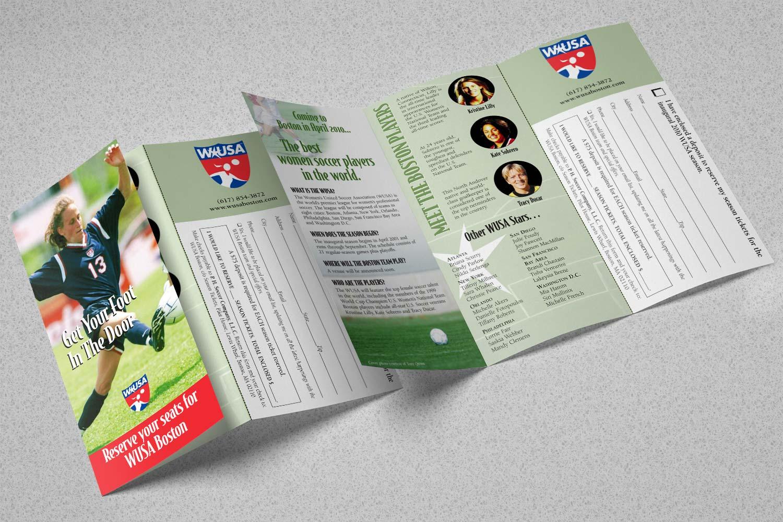 "Sales Brochure, 11"" x 8.5"" trifold"