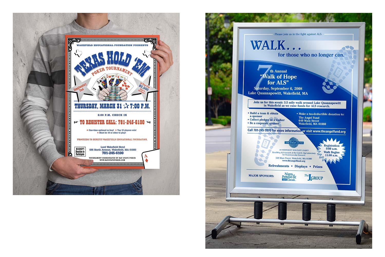 Fund-raising Posters
