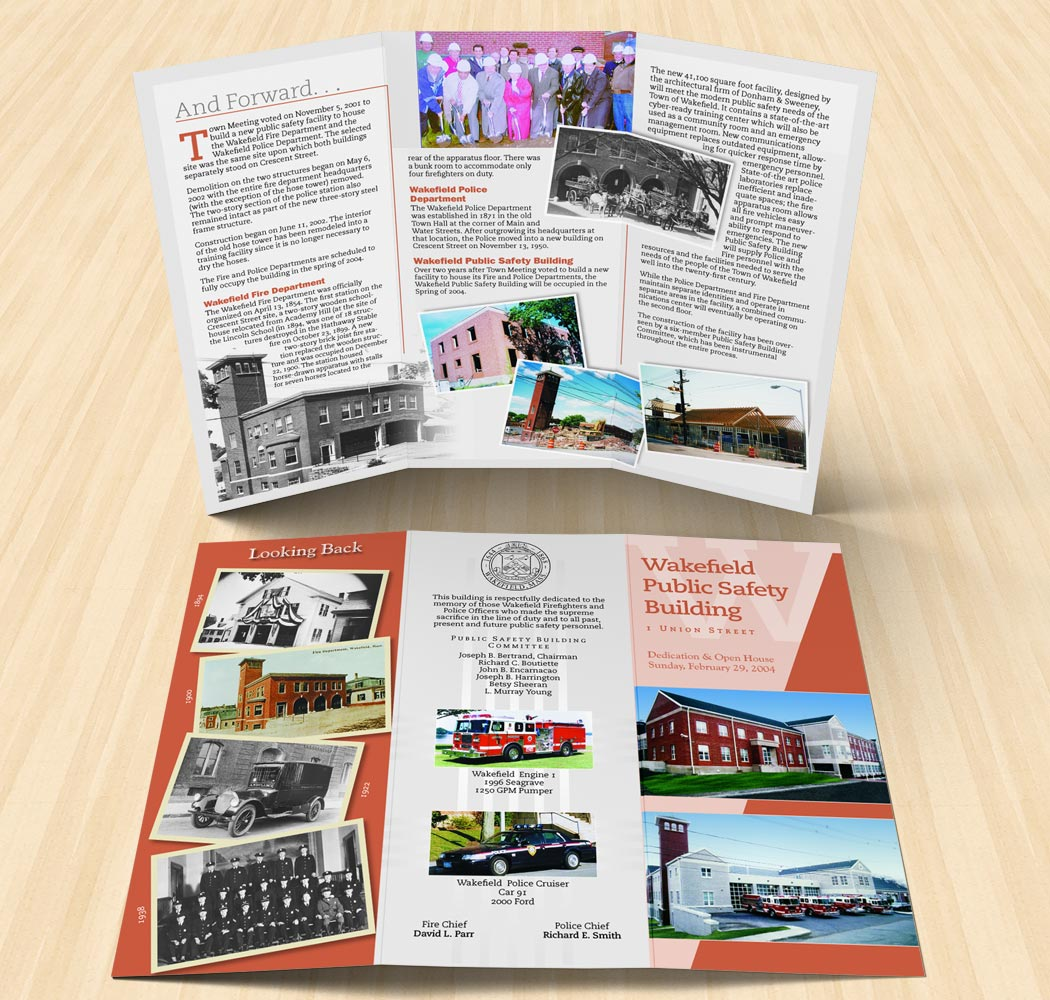 """Special Events Brochure, 11"""" x 8.5"""" trifold"""