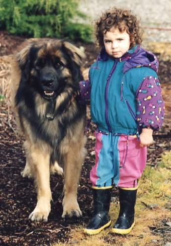Linnea and Baloo, 1996