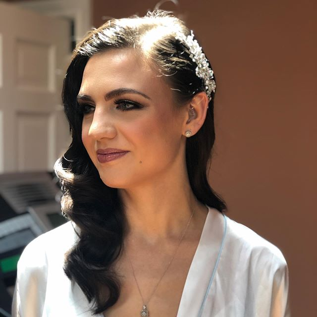 So stunning this girl! And what a gene pool, her mom is gorgeous, and grandma is channeling Meryl Streep from the Devil Wears Prada.  Beautiful family, and just the sweetest people.  Congratulations Masha!! Thank you for having me on your wedding day! . . . . . . . . . . . . #weddinghairstyles #njweddings #njbridalhairstylist #bergencountyweddings #bergencountybridalhair #vintagevibes #gorgeousbride #gettingready #familyaffair #holyhotgrandma #onlocationbridalhair #beautybegetsbeauty #lovewhatido #blessed #godprovides #grateful