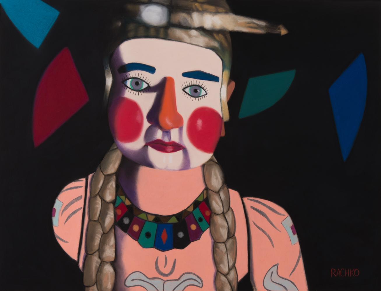 """""""The Storyteller""""  Soft Pastel on Sandpaper 20"""" x 26"""" image 28.5"""" x 35"""" framed 2014"""