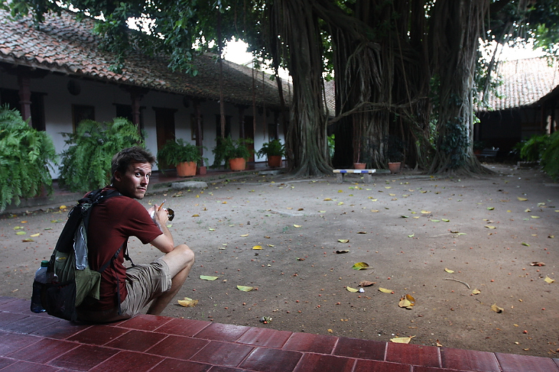 Brian in Mompos, Colombia. Photo credit: Sky Gilbar