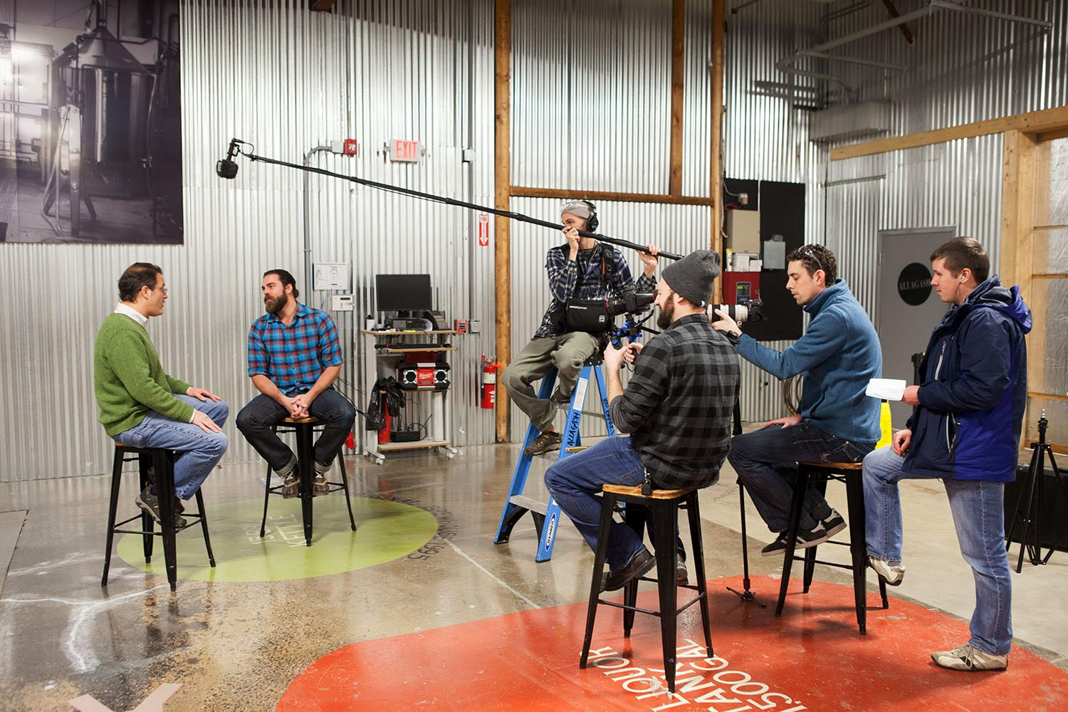Behind the scenes look at Local Brew. Host Matt Delamater interviews the owner of Allagash Brewing Company, Rob Tod.