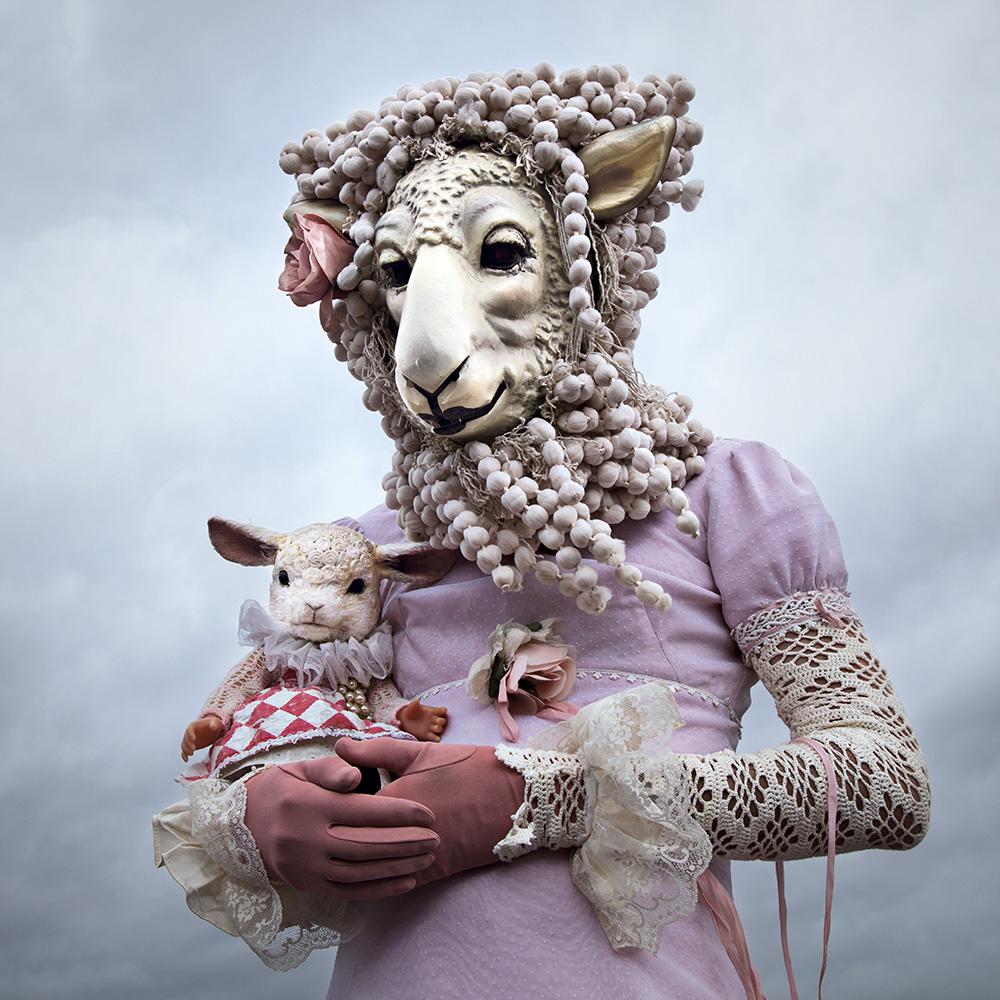 ©MothmeisterAnnie05  (lamb doll by Annie Montgomerie)