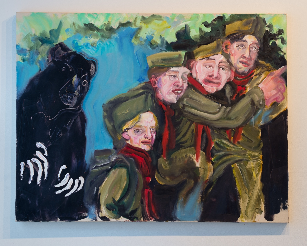 A Scout is Brave, Oil on canvas, 36 x 46, 2015 | Photo credit: Sarah Beth Smith Photography