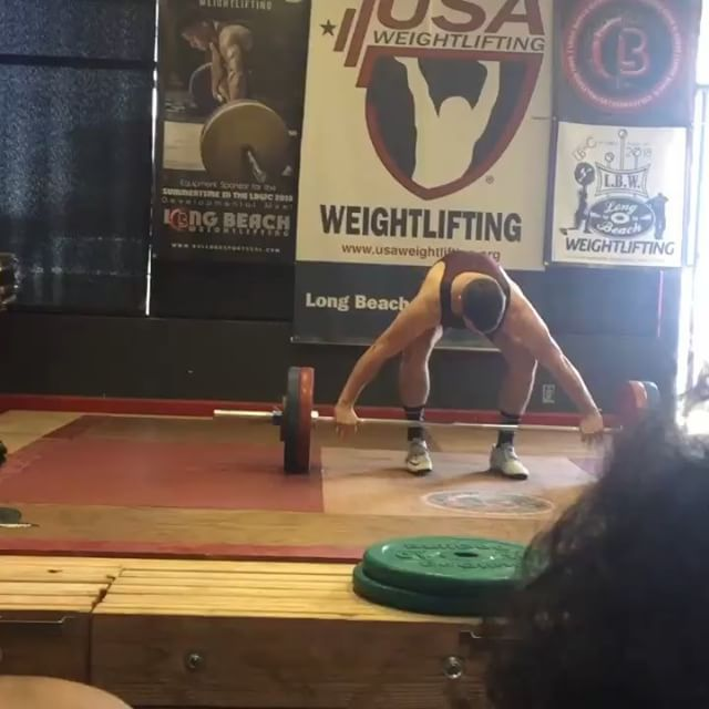 Congrats to coach @jeff_fran on his competition PR's this past weekend! 115kg snatch and 154kg clean & jerk! Woot woot!  Jeff's current Depot Barbell Club programming is getting athletes ready for our own in house Olympic weightlifting meet- the Depot Fall Classic! Last day to signup is this Wednesday 🏋🏻♂️ #liftlikejeff #depotbarbell #olympiclifting #Beard