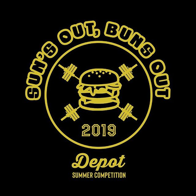 Grab a partner and register for our Depot Summer Competition by MONDAY to get a T-shirt with your entry! Registration is only $90 per team. Peep Wodify for the link and code. Want to compete but need a partner? Let us know and we'll help find you one! 🍔☀️🌭