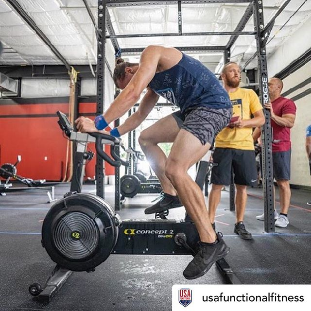 we are very proud of our Coach Hans!! 🖤💪🏼 Posted @withrepost • @usafunctionalfitness @track_athlete qualified to Nationals this year through our USAFF approved event @battlegroundevents. He kicked off test 1 wearing a shirt signed by the members of his gym Depot CrossFit, who helped contribute so he could make the trip to Nationals. Love seeing that type of community support!! #usaff #functionalfitness #reachfortherings #nationals 📸 @v4vader