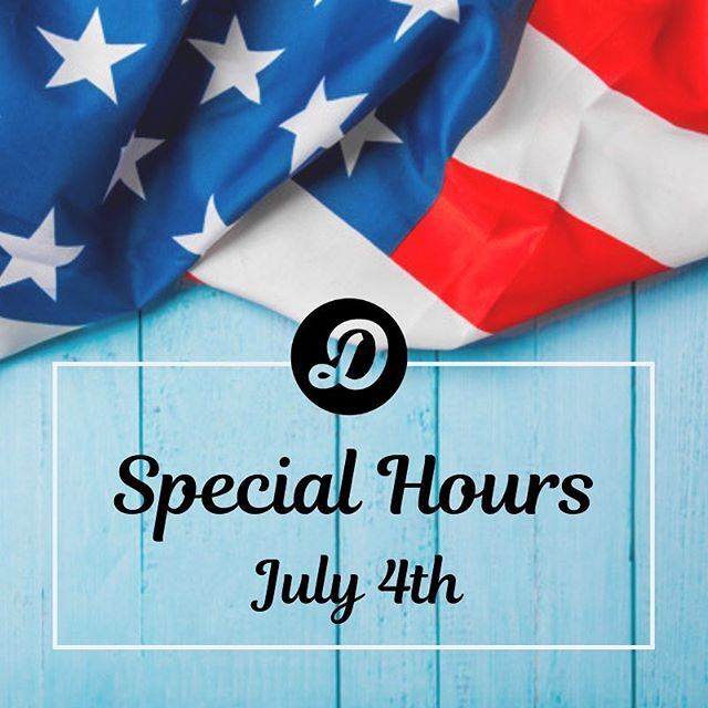 get in a good sweat & then go get your celebration on! 🇺🇸 7/4 hours- 9am + 10am only  have a safe & happy 4th! 🎆