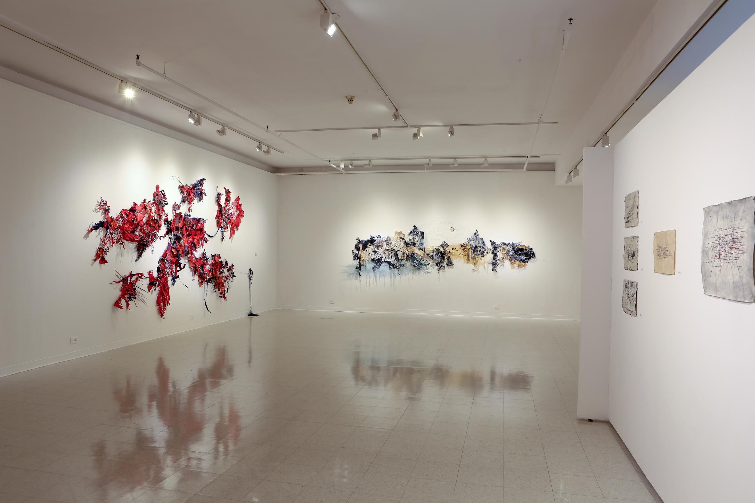 Installation at Montserrat College of Art