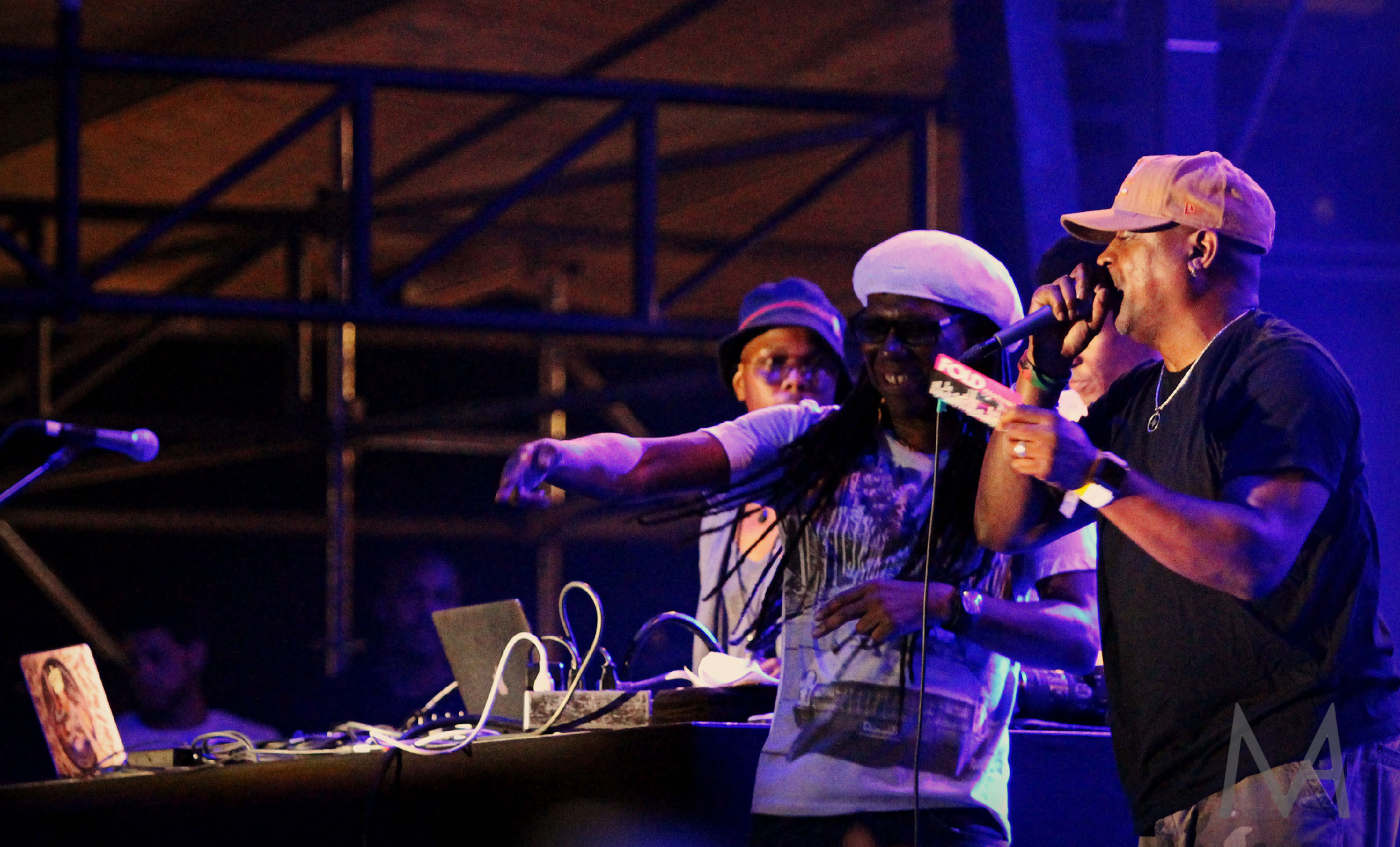 Nile Rodgers and Chuck D