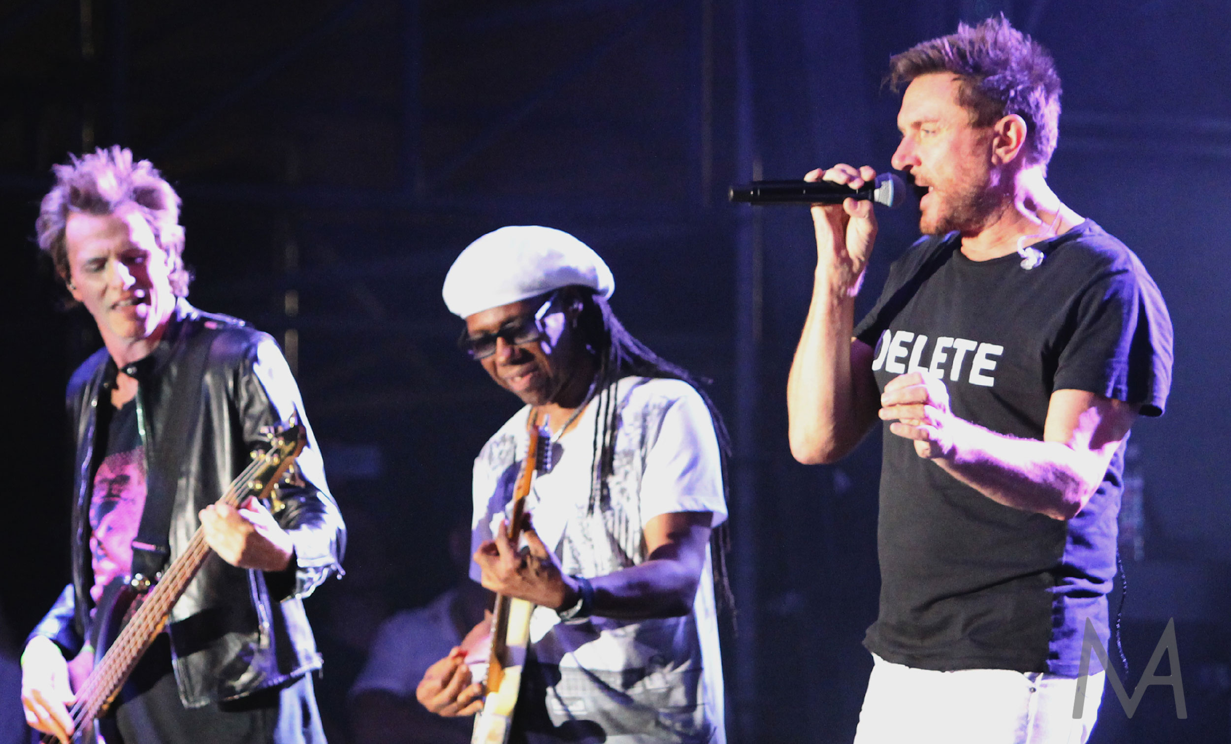 Duran Duran and Nile Rodgers