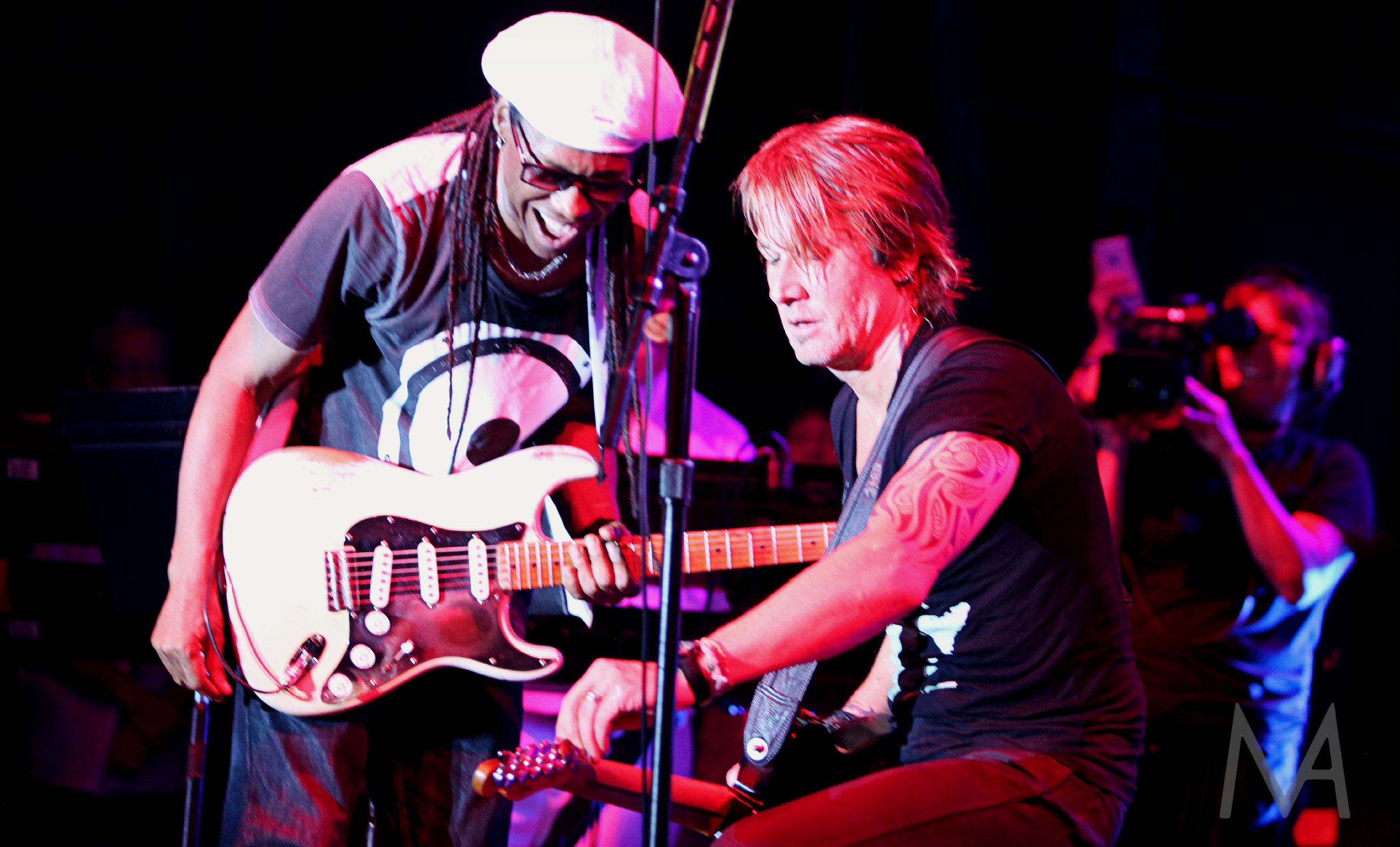 Nile Rodgers and Keith Urban