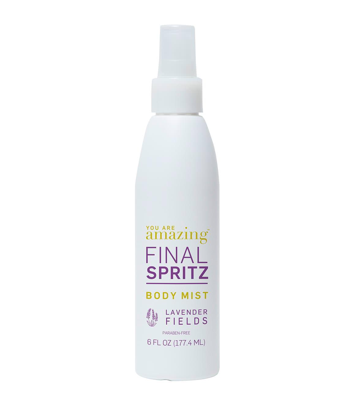 You Are Amazing Final Spritz Body Mist Lavendar Fields