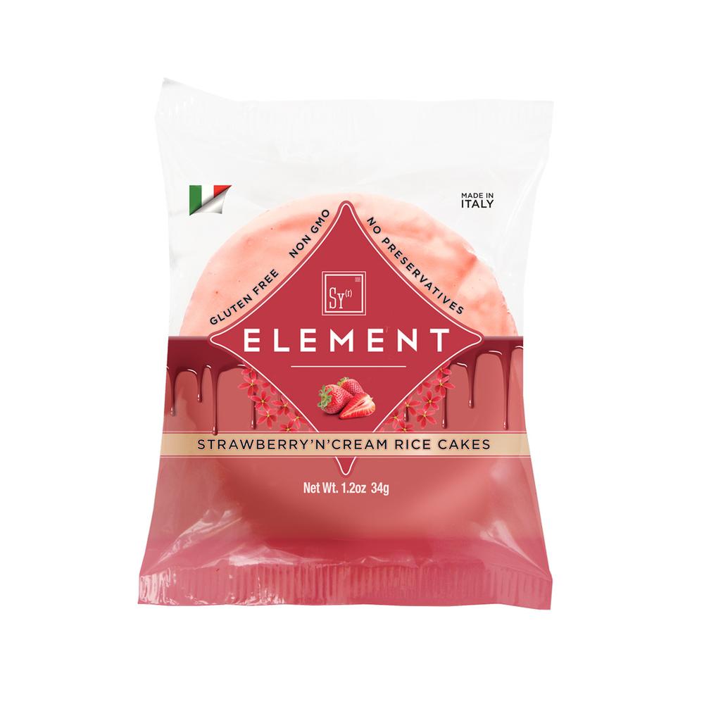 Element Snacks Strawberry Rice Cakes