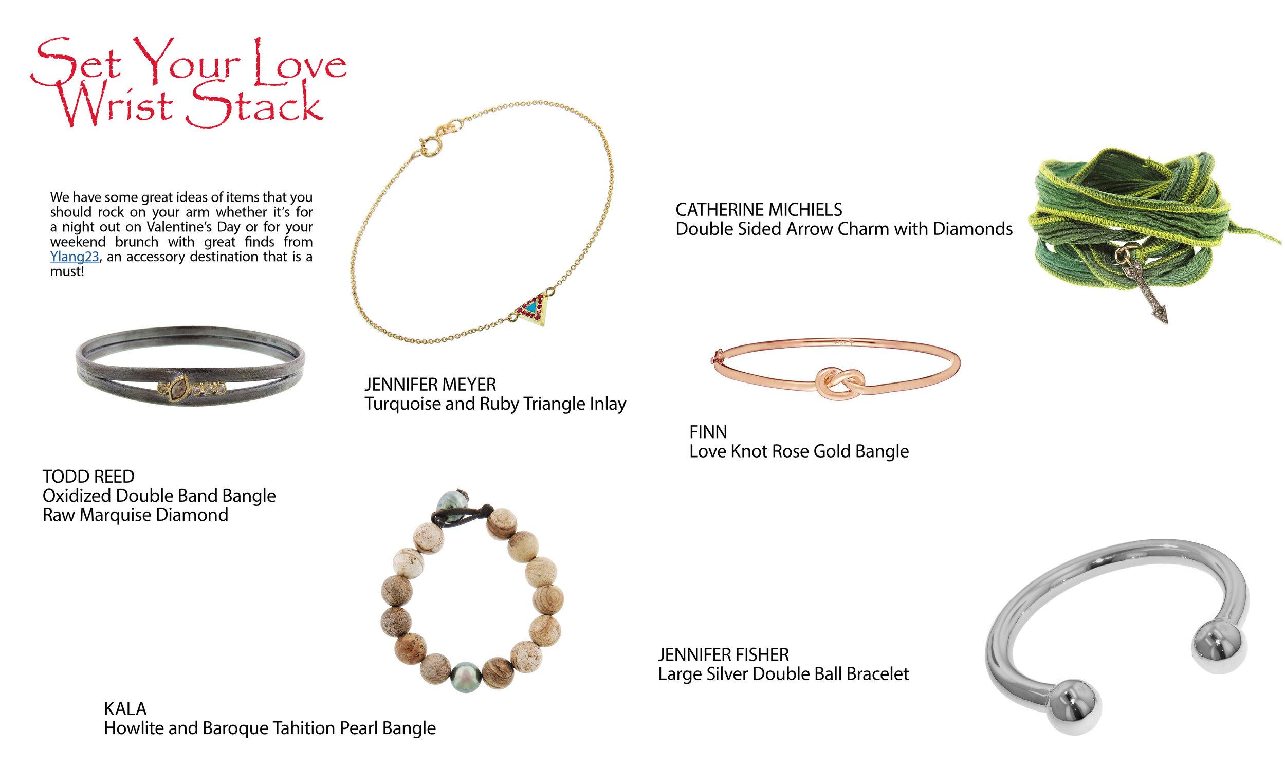 Find your favorite bracelet at  Ylang23 .